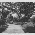 Beeches Lane, i.e. Gospel Lane, c. 1905