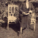 Marie Rose, daughter of Henry and Mabel. c. 1918. She taught at the school.