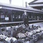Alfred Compton's station, 1950s (V. Blick)