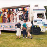 Carnival float, 1994 on the Recreation Ground