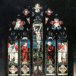 The Burne Jones window contains designs from 1861-1882. There is a book by Alastair Carew-Cox and William Waters on Edward Burne Jones' stained glass in Birmingham churches, which describes the window in detail.
