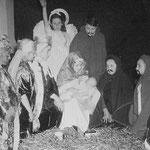 Nativity play, Christmas 1952