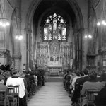 The Nave without pews, probaby 1980s