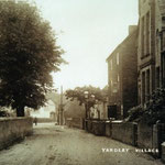 Yardley Village, looking towards the Talbot inn