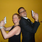 Partymotto: Geheimagent. (C) 2014 Bubig & Neumann Kreativ-Verlag GbR.
