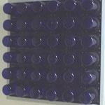 Blaues Quadrat mit Nachleuchten/2 teilig