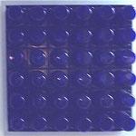 Blaues Quadrat mit Nachleuchten
