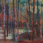Grunewald  2012 Acryl/LW 1150x150 cm