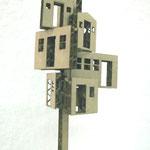 HausTürHaus,Wellpappe, 10x10x15