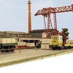 Industrielle Schmalspur von H.-P. Weigel