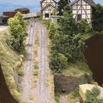 Bremsberg der Gipsbahn von Helmut Walter