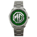 MG7 British Racing Green