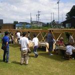 イベント会場設営・木工教室