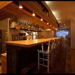 イタリアンレストラン、改修。完成、内部。