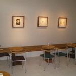 完成、内部。カフェ兼ギャラリーに。