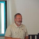 Univ. Doz. Dr. Armin Deutz bei seinem Vortrag über die Auswirkungen des Klimawandels auf das Wild