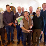 Olaf von Löwis (Bürgermeister), Robert Wiechmann,Josef Bichler (Jagdvorstand), Hans Kornprobst (angestellter Jäger), Josef Stahl (Jagdvorstand), Josef Taubenberger (Vorsitzender d. JG), Dr. Wolfgang Kornder (Vorsitzender d. ÖJV), Wolfgang Rzehak (Landrat)