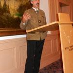 Dr. Peter Pröbstle bei der gelungenen Laudatio