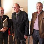 Dr. Wolfgang Kornder, Hans Kornprobst und Alfons Leitenbacher