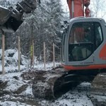 Bau der stationären Version nach dem Modell des Nationalparks Bayerischer Wald