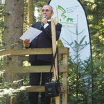 Dr.Wolfgang Kornder bei der Begrüßung
