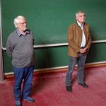 Dr. Klaus Thiele und Alfons Leitenbacher
