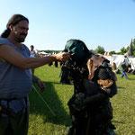 Odinger fressen sogar Orkweibchen aus der Hand...