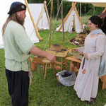 Auch Wulf und Rebecca aus dem Fenrislager haben ihre Liebe zum Tundeln entdeckt