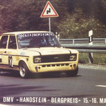 Fiat 128 Gruppe 2 am Berg, 1982 während den Anfängen