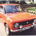 Fiat 128 Rallye, Frontansicht, um 2008