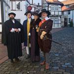Spielszenen zur Reformation in Minden - Mit Angela Pfenninger als Gast