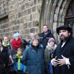 Spielszenen zur Reformation in Minden
