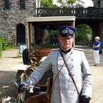 Macht und Pracht - Die Saalburg in wilhelminischer Zeit- Spielszenen zum Unesco Welterbetag