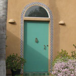 Ceramic InsulCoat Wall - Stucco - Moroccan-Style Hose Front Door, Vista, California