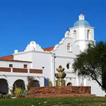EnviroCoatings Ceramic InsulCoat Wall was applied on the Mission San Luis Rey in 2004