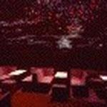 ム-ンライトチャム(三橋)  「クラブ」内装  コーリアンニュース掲載 独立後の初仕事。天井一面が星空と銀河。通常店鋪工事費の半分以下で造り上げることができました。