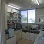 玄関の自動ドア化、トイレの改造など 技工、消毒スペースの家具の作り替え