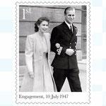 Elisabeth et Philippe, 1947