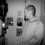 Horst mit den ehemaligen 35 mm - Projektoren