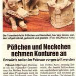 """Projektarbeit """"Entwerfen von Figuren Pößchen und Neckchen"""""""
