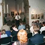 Ausstellung in der Gottesackerkirche