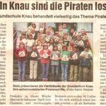 """Workshop """"Piratenschiffe"""" in der Grundschule Knau"""