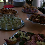 Rustikaler Businesslunch