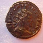 antoninien, Milan 1ére ém 1ére off sept 268-janvier 269, 4.54 g, Avers: IMP CLAUDIUS P F AUG