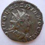antoninien, Trêves 6e ém 259/260, 3.19 g, Avers: DIVO VALERIANO CAES