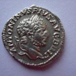 denier, Rome 213, 2e officine, 3.14 g, Avers: ANTONINVS PIVS - AVG BRIT