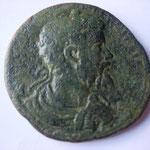 Cilicie, Ninika-Claudiopolis, grand bronze, 34 mm, Avers: IMP CAEC L SEPT SEVERVS CLAVΔIOPOL portrait de Sept Sev