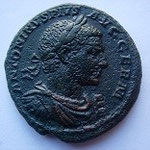 As, Avers: ANTONINUS PIUS AUG GERM, Revers: Jupiter assis à g tenant une victoire et un sceptre, à ses pieds un aigle