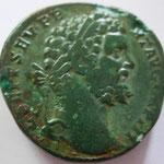 sesterce, Rome, 2e officine, 194,  A:L. SEPT SEV PE-RT AVG IMP III