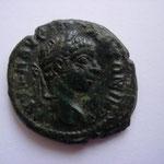 Elagabale, assarion, Philipopolis, 4.64 g, Avers: AVT K M AVP ANTΩEINOC.